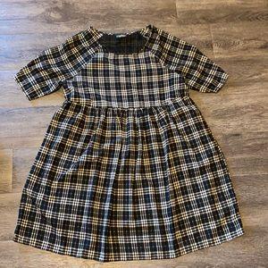 Medium size plaid dress by Audrey